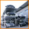 Três elevador hidráulico do estacionamento do borne do poço quatro dos assoalhos (PFPP-3)