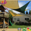 100% HDPE Waterproof Sun Shade Sail/Shade Cloth para o jardim de Family