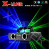 Het dubbele Licht van de Laser van Green&Blue van Hoofden/Laserstraal Green&Blue