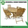 Таблица Extendalbe мебели древесины дуба напольная с стулом складчатости