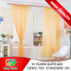Plain moderne Solid Sheer Voile Window Curtain avec Loops, Ready Made Tab Top Sheer Voile Panel Curtains