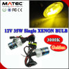 직업적인 Xenon HID Bulb 3000k Golden Color H1, H3, H7, H8, H9, H11, 9005, 9006, 800, 881
