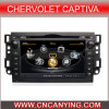 GPS를 가진 Chervolet Captiva 2010년, Bluetooth를 위한 특별한 Car DVD Player. A8 Chipset Dual Core 1080P V-20 Disc WiFi 3G 인터넷 (CY-C020로)