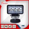 Forklift Mining를 위한 10-60V Rectangular 9W LED Work Light