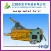 Hidráulica Residuos automática de papel Baler con certificado CE