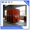 Máquina Vulcanizing hidráulica da imprensa da placa de borracha do aquecimento
