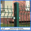 Triangolo che piega recinzione decorativa verde scuro del cortile della rete metallica del giardino
