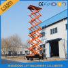strumentazione di sollevamento piegante registrabile dell'elevatore di merci 0.3-20ton di 20m per il magazzino