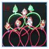 크리스마스 LED Lingting 훈장 산타클로스 머리띠 선전용 선물 크리스마스 빛난 머리 걸쇠