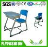 Tabela de madeira e cadeira do estudo da mobília de escola ajustadas (SF-60S)