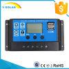 12V/24V удваивают регулятор Rbl-20A обязанности солнечной батареи USB-5V/3A