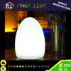 Festival de la decoración de la forma del huevo noche Lámpara de mesa de luz LED