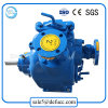 Motor Diesel - bomba de água desobstruída de escorvamento automático conduzida 2 polegadas