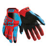 Guanti di corsa di slittamento di sport di PRO disegno di Red&Blue anti (MAG43)