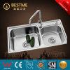 Dissipador de cozinha moderno do aço inoxidável de China (BS-8002)