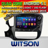 Carro DVD do Android 5.1 de Witson para o Outlander 2015 de Mitsubishi (W2-A7086) com sustentação do Internet DVR da ROM WiFi 3G do chipset 1080P 8g