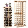 Flaschen-Halter-Ausgangsstab-Bier-Regal des Woodenwine Zahnstangen-Speicher-44