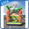 Giochi gonfiabili del Bouncer del coniglio del fumetto della sosta dei bambini