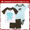 男の子の服装は2016人の子供の衣服の幼児の男の子の着ることをセットした(ELTBCI-10)