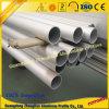 Pipe ronde en aluminium personnalisée de Suqare du tube 6063 T5