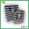 Bolsos de papel de estilo a rayas para embalaje