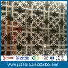 feuille décorative d'acier inoxydable de couverture de l'or 316L