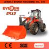 Everun 상표 Er25 Landmaschine Radlader 의 유로 3 엔진과 더불어 세륨 바퀴 로더,