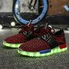 Het Veranderlijke Licht van uitstekende kwaliteit van 11 Kleuren op LEIDENE Schoenen