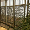 Modern Design Laser Cut Partition Screen Restaurante Metal Room Divider