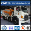 Caminhão do misturador 8X4 de Hino 700 com 12 medidores cúbicos