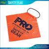 옥외 주황색 도로 표지 소통량 경고 안전 깃발 (B-NF37P07001)