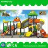 Campo de jogos ao ar livre do estilo novo das crianças com corrediças