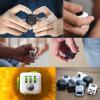 I regali del mitigatore di sforzo di divertimento di compressione del cubo di irrequietezza allevia l'ansia e lo sforzo Juguet per i giocattoli di rotazione dello scrittorio di Fidgetcube dei bambini degli adulti