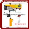 소형 Electirc 철사 밧줄 호이스트 작은 천장 기중기 수용량 300