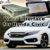 Video interfaccia dell'automobile per 2016 o accordo successivo ecc del Honda Civic, parte posteriore Android di percorso e panorama 360 facoltativi