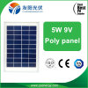 Prezzo chiaro solare del poli del comitato solare 5W Pico di alta qualità del sistema solare di via giardino dell'indicatore luminoso migliore