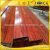 Hersteller-hölzernes Korn-Aluminiumstrangpresßling-Profil China-Alu für Dekoration