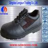 熱販売の浮彫りにされた革方法安全靴(GWRU-1010)
