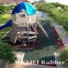 Azulejos al aire libre de la Azulejo-Cubierta del juego y del patio, azulejos de goma al aire libre