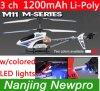 avion de l'hélicoptère M11 3D RC de 50cm Mjx 3 ch R/C avec les lumières colorées de grande taille