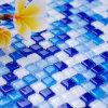 プールの水晶モザイク・ガラス