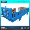 Maquinaria de construção colorida da chapa de aço de camada dobro da maquinaria do material de construção