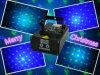 GB мерцая 8 светов рождества лазерного луча партии Gobo