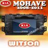 Reprodutor de DVD do carro de Witson com GPS para o Mohave de KIA (W2-D9510K)