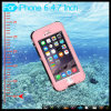 IP68 Waterproof Shockproof Snowproof Protection Case Cover с удостоверением личности Fingerprint на iPhone 6 4.7 Inch