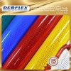 Película material reflexiva imprimible adhesiva del grado de la impresión