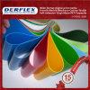Materiale ignifugo del magazzino della tela incatramata del PVC di gelo impermeabile