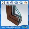 Hölzernes Korn Thermisch-Brechen Fenster-Aluminium-Profile