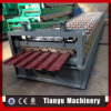 Feuille ondulée en acier galvanisée de toiture faisant la machine