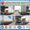 del aire 3-Axles de la suspensión del transporte de contenedores de Lowboy acoplado semi